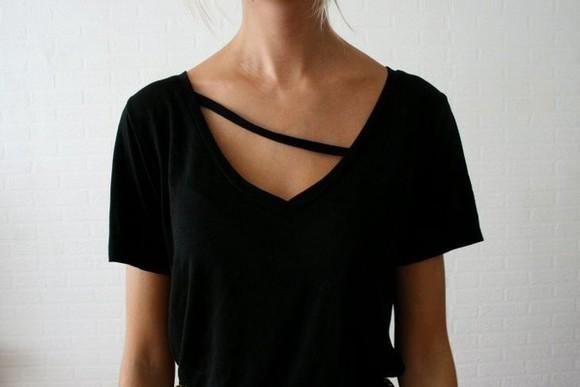 t-shirt black black t-shirt shirt