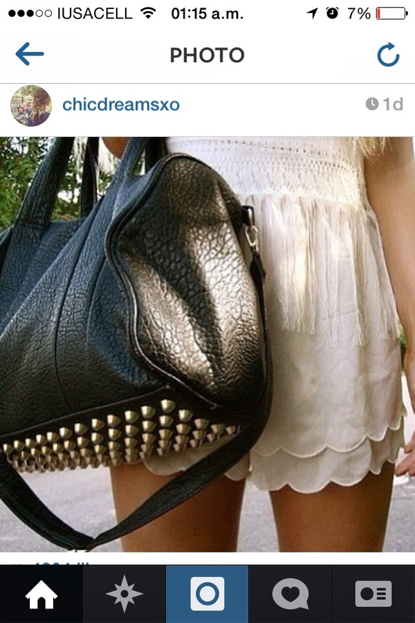 bag black gold pointy leather black leather black leather bag bethany mota