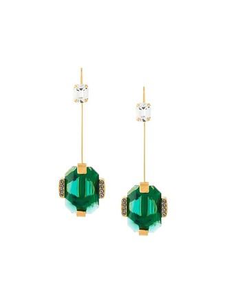 crystal earrings earrings metallic jewels