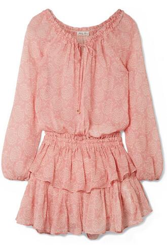 dress mini dress mini rose silk