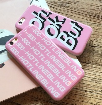 phone cover girl girly girly wishlist iphone cover iphone case iphone pink 1800 hotline bling hotline bling