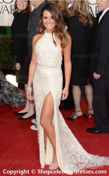 Length white lace 2013 golden globe dresses(scd588) shopcelebritydresses