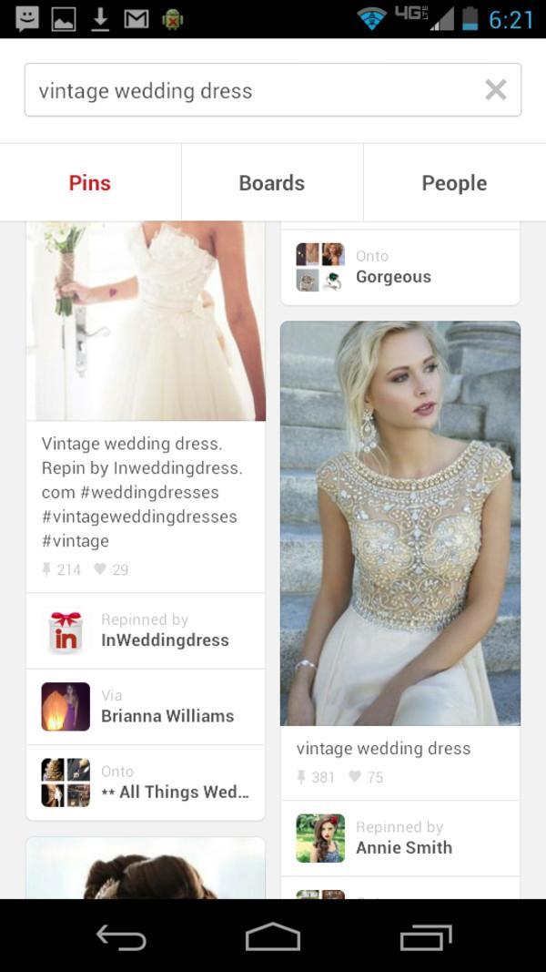 dress vintage dress beaded dress vintage wedding dress vintage