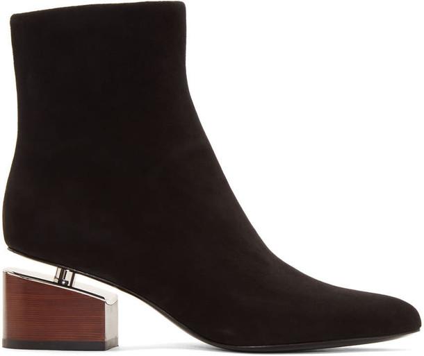 Alexander Wang suede black shoes