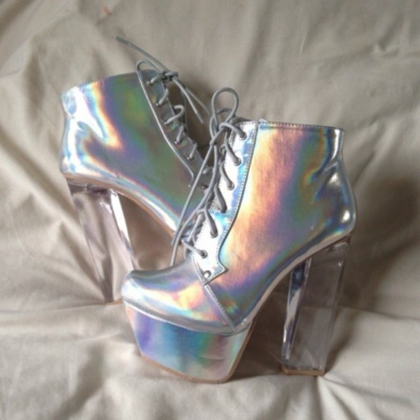 Shoes Holographic Shoes Holographic Wheretoget