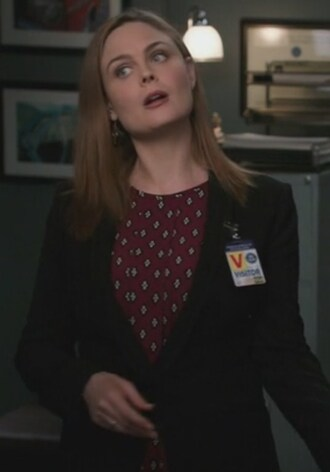 blazer blouse dr. temperance brennan emily deschanel bones