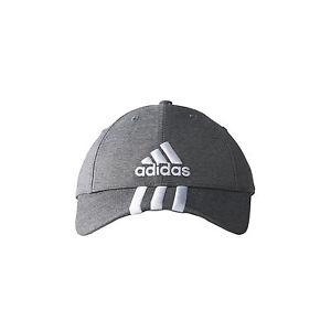 adidas Training 3 Stripes Performance Cap Grey 1897a222af6