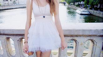 white dress pink dress dress