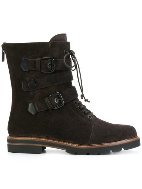 STUART WEITZMAN women leather brown shoes