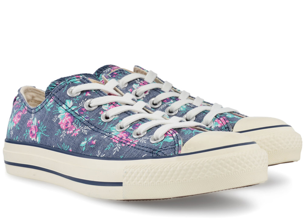 Converse Floral Print Ox 537113c Gravitypope