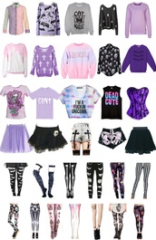 cardigan,emo,goth,cool,purple,pastel goth,dyed,quote on it,violet,skull,crosses,pale,bats,cat magic,grey,blouse,shorts,pants,belt,skirt,sweater,shirt,pastel goth shirt,pastel goth pants,goth shirt,goth pants,pastel,pastel pants,pastel shirts,corset,top,creepy cute,bag