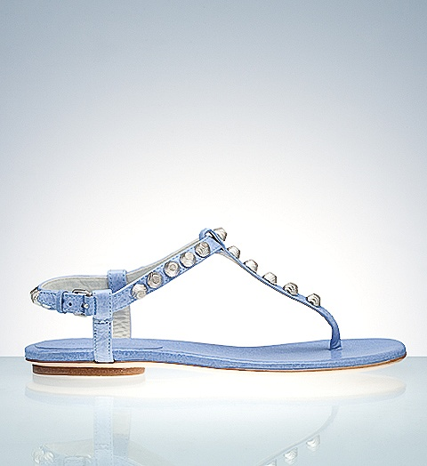 Product shoes,giant silver thong