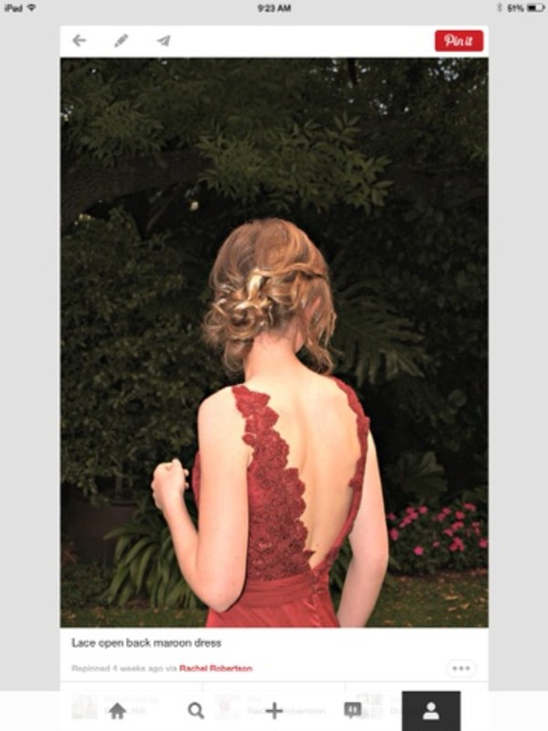 dress prom dress long prom dress red dress