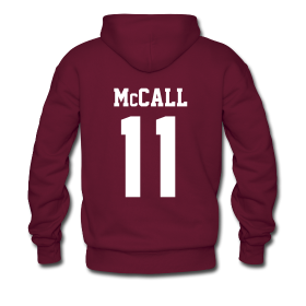 """""""McCALL 11"""" - Hoodie (XL Logo, NBL) 