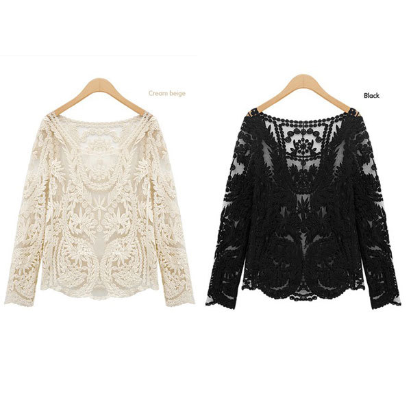 Womens Lace Tops Blouses | Fashion Ql