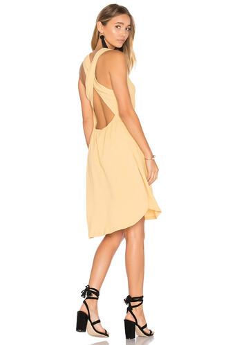 dress sun yellow