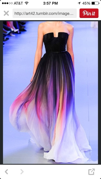 dress ombre