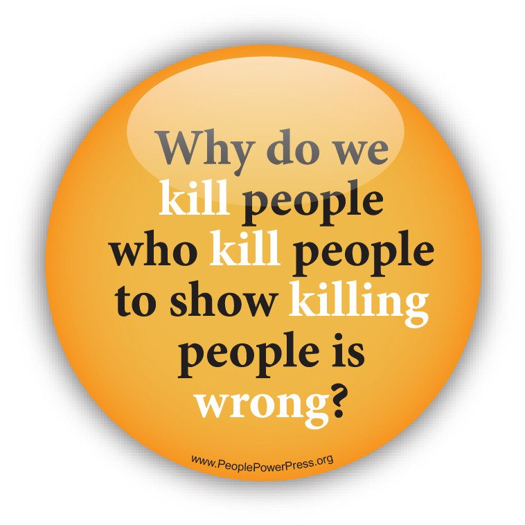 we kill people who kill people because Guns don't kill people, people kill people and other nonsensical rhetoric 2066 words | 9 pages guns don't kill people, people kill people and other nonsensical rhetoric the intent and historical relevance of the second amendment should be carefully considered against modern day situations and circumstances surrounding gun violence.