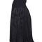 Snake silk jacquard skirt