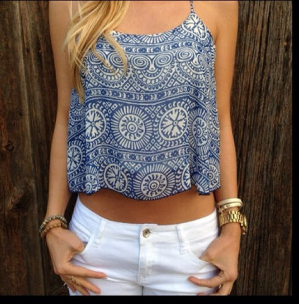tank top beachy tank crop tops