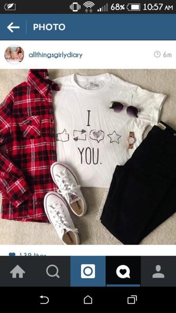 top tumblr flannel shirt twitter