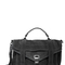 Ps1 suede medium black satchel