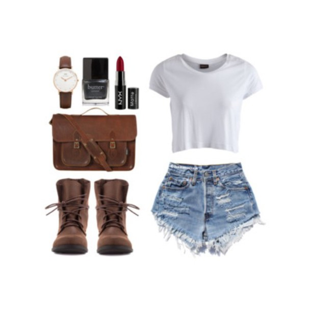 cool swag clothes demin girl fashion