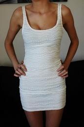 dress,clothers dress,white dress,sequin dress