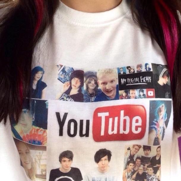t-shirt youtuber t-shirts