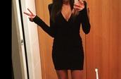 dress,black fcuk?