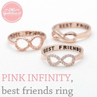 jewels infinit ring rings best friends besfriends me