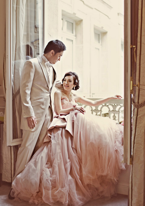 Selling !!! Glamorous Ball Gown Sweetheart Ruffles Blush Pink Gown ...