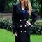 Designer coat av - black office jacket