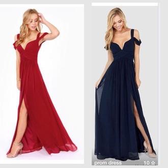 dress red dress prom dress long dress vneck dress v neck dress