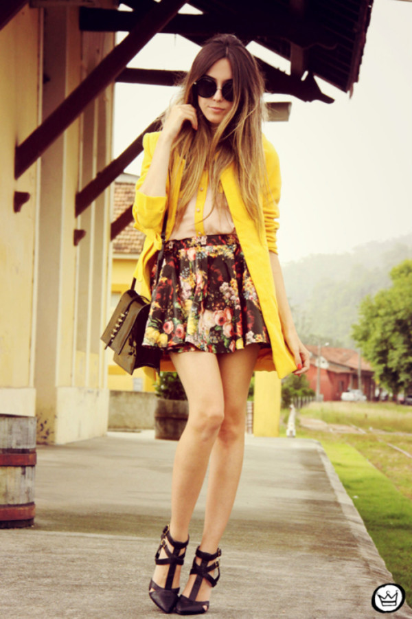 fashion coolture shirt skirt coat bag shoes