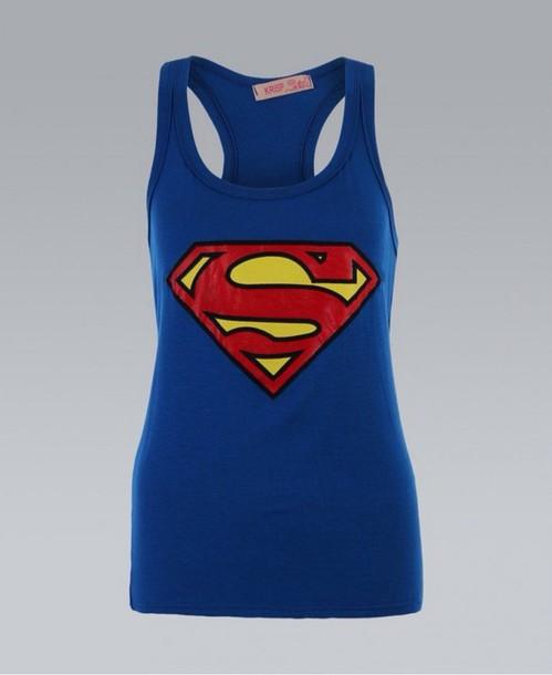 tank top superman