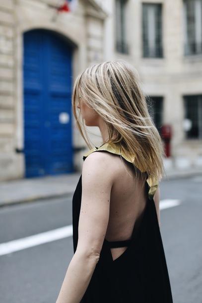 Backless Dresses Blonde