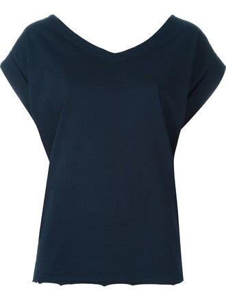 top back blue