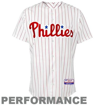 Fanatics.com: Majestic Philadelphia Phillies White Authentic Cool Base Baseball Jersey