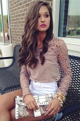 Lindsay Vintage Long Sleeve Shirt – Dream Closet Couture