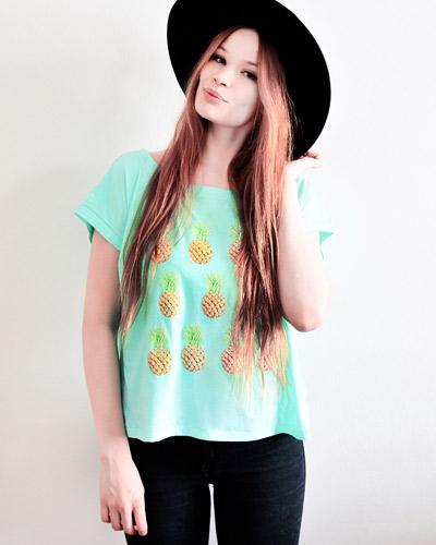 PrettySucks / Ananas Shirt: 29,00 EUR