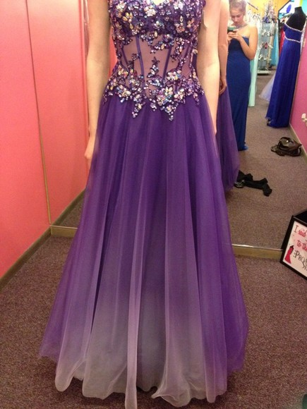 dress prom dress purple dress long prom dresses
