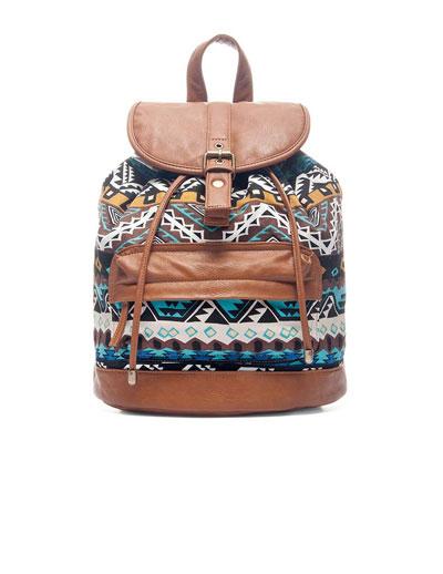 Producto: mochila estampado geomã©trico