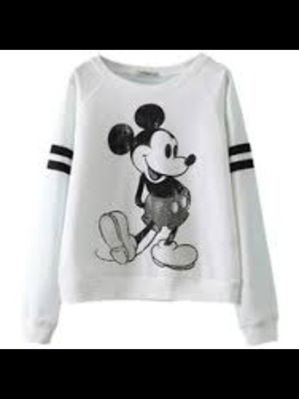 sweater mickey mouse mickey mouse sweater white black black and white comfy lay back