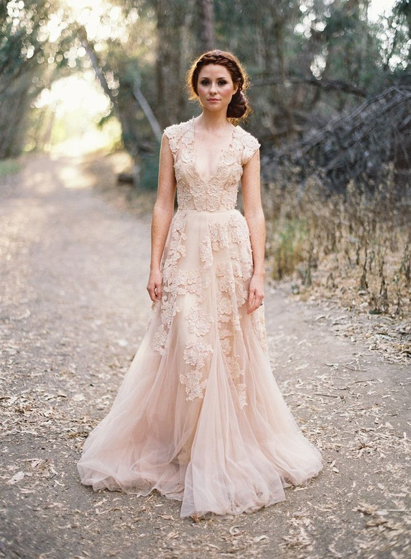 Aliexpress.com : Buy Vestido De Noiva Lace Vintage Wedding Dresses ...