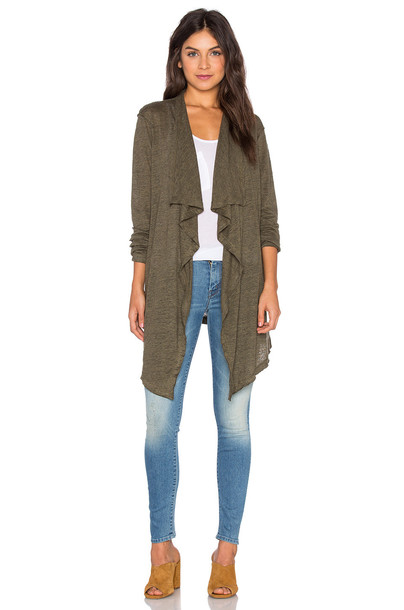 Heather cardigan cardigan green