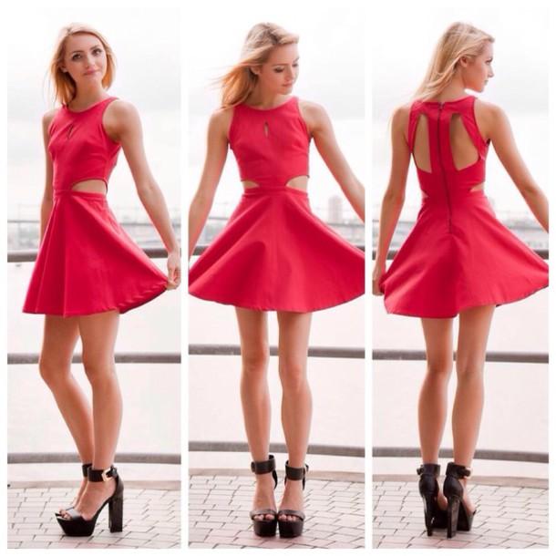 Dress: christmas dress, christmas dresses, pretty, cute, skater ...