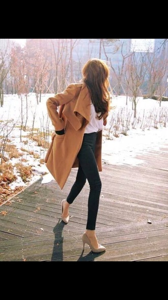 blouse brown cold beautiful lovely