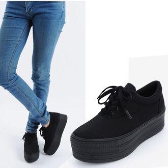 shoes platform shoes platform sneakers