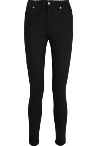 jeans skinny jeans zip black